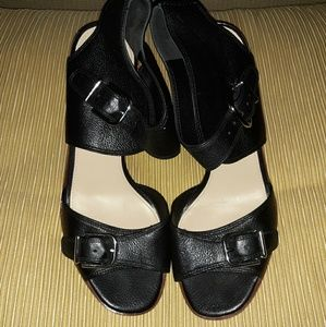 Via Spiga Black Leather Shoes!🥰